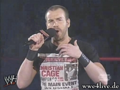 Christian veut un titre,mais pour cela,il faut un match d'entrainement. Christian_speak_03